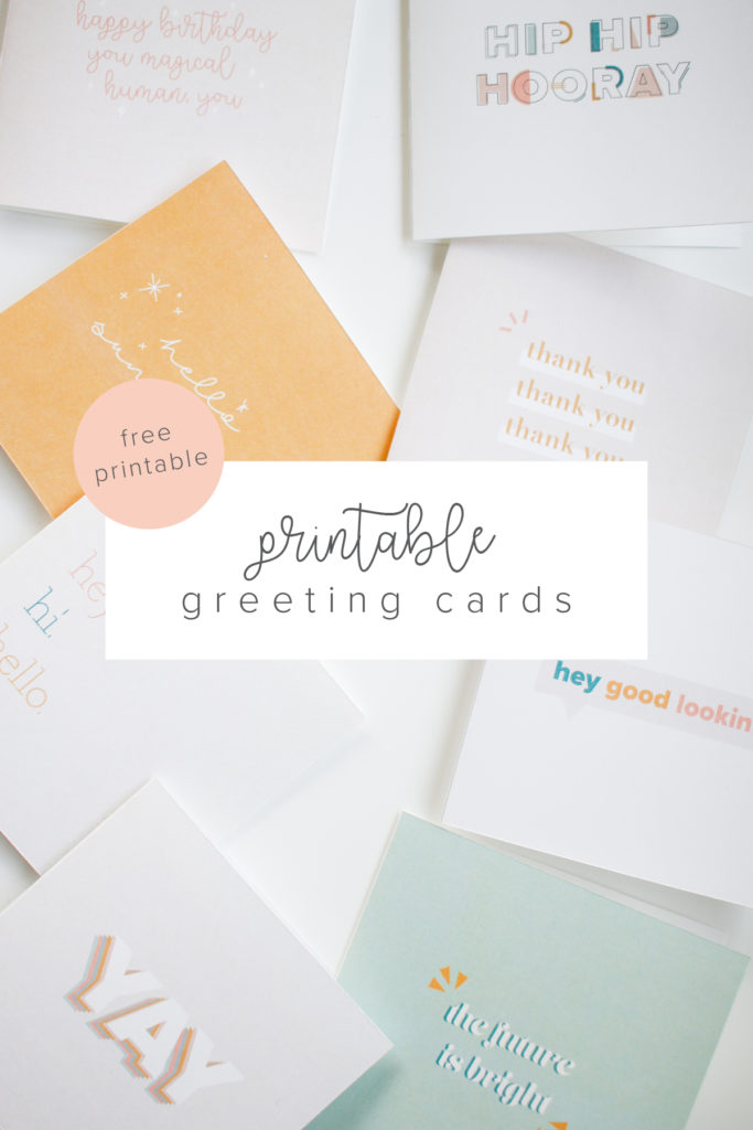 Free Way Cute Printable Greeting Cards For Every Occasion